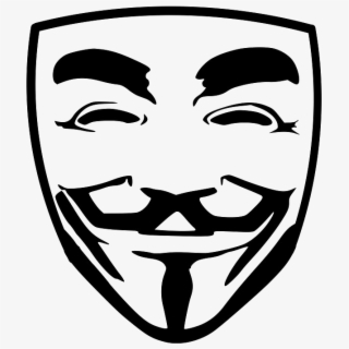 Anonymous Hacker Transparent.