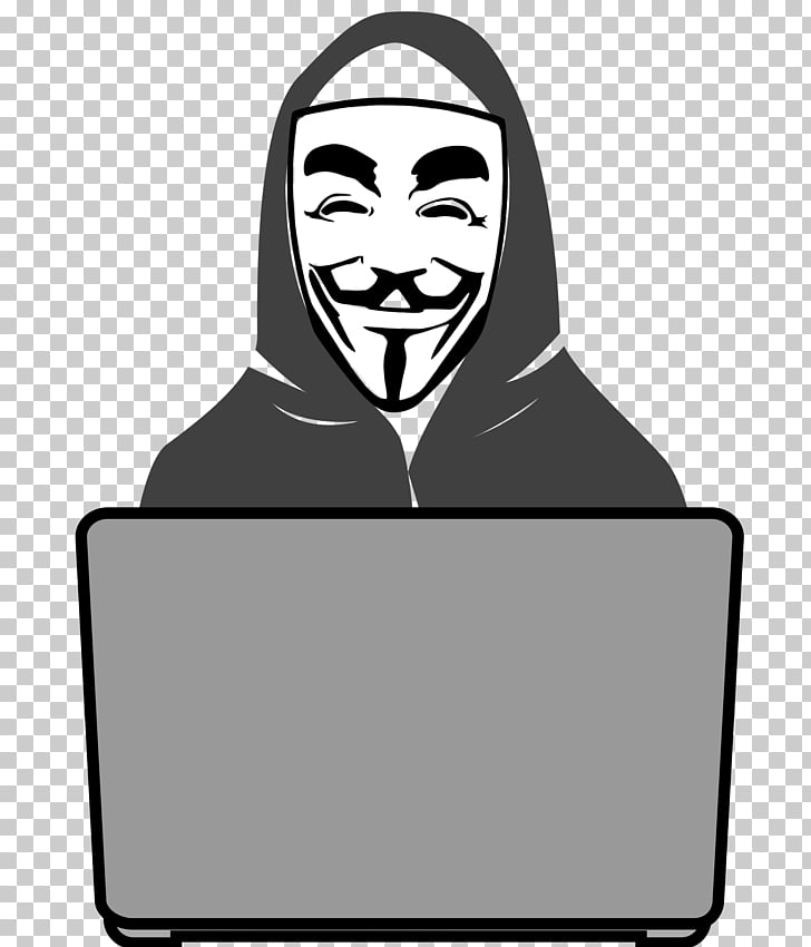 Security hacker Anonymous , hacker, Guy Fawkes mask.