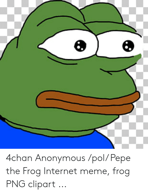 4chan Anonymous Pol Pepe the Frog Internet Meme Frog PNG.