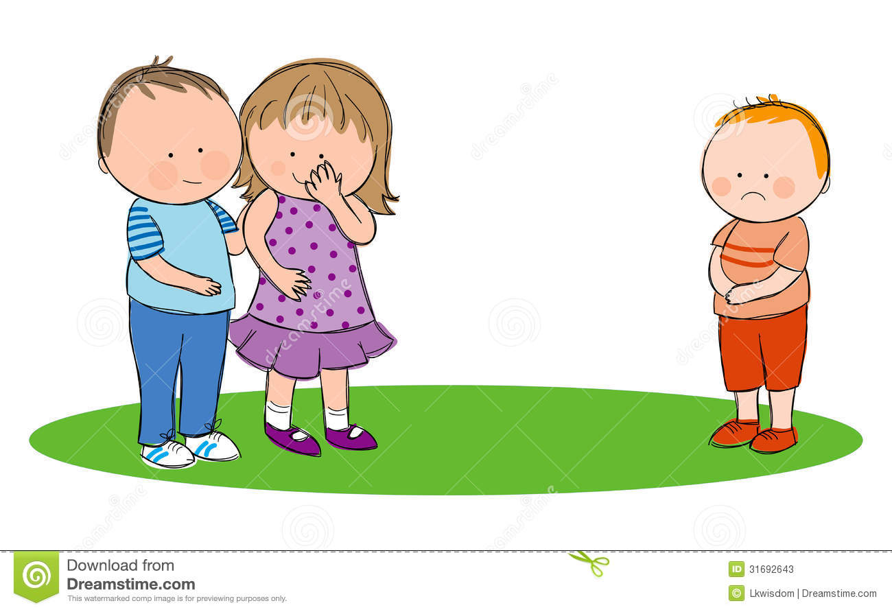 Child helping another child clipart.