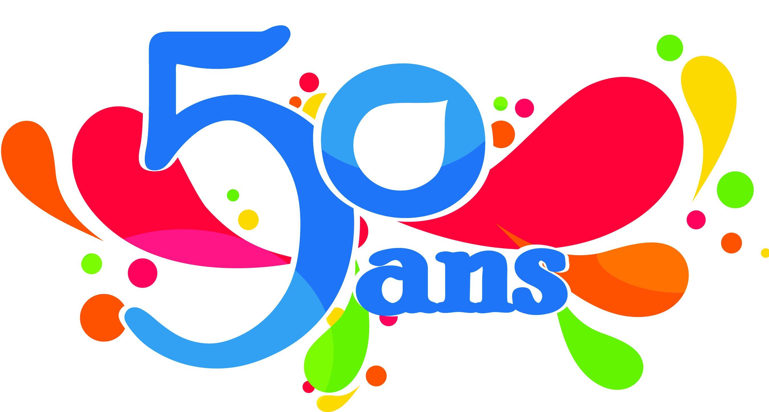 Clipart anniversaire 50 ans 5 » Clipart Station.