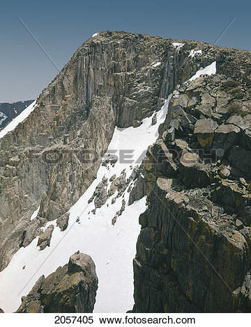 Stock Image of On The Mammoth Crest, Ansel Adams Wilderness.