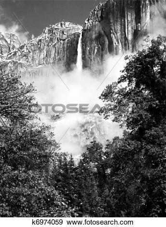 Stock Photograph of Homage to Ansel Adams k6974059.