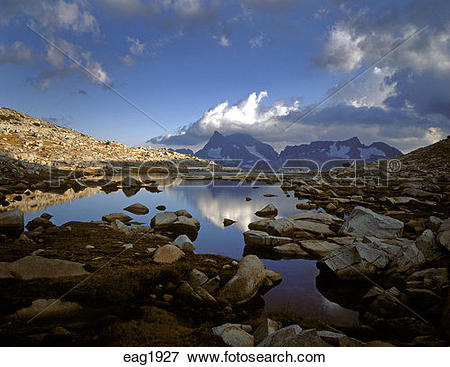 Picture of A view of one of the LOST LAKES in the ANSEL ADAMS.