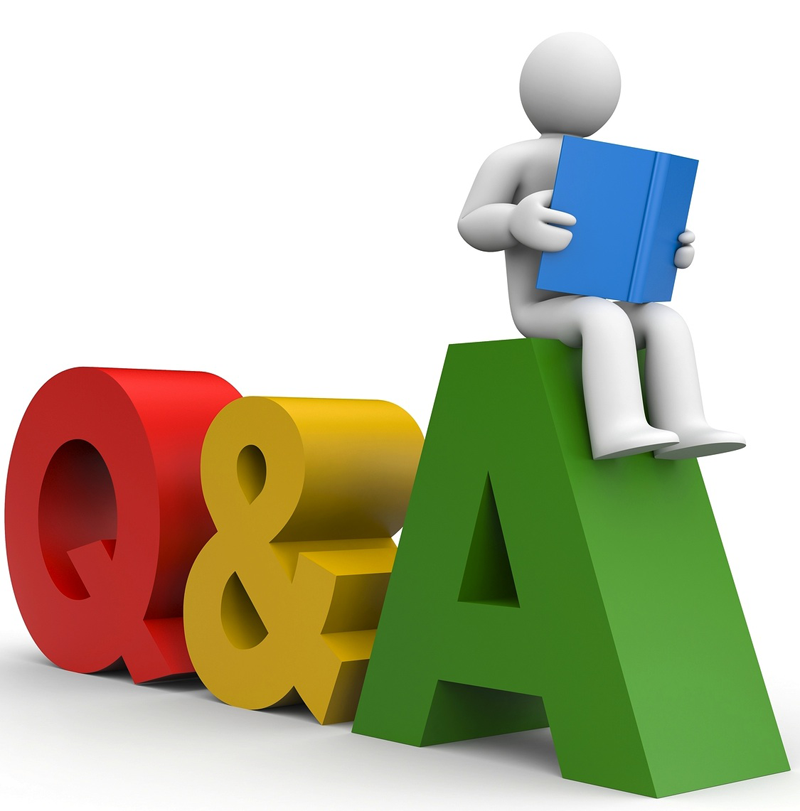 Answering A Question Clipart.