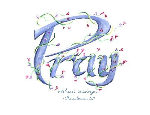 245 Prayers free clipart.