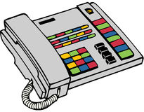 Answering Machine Stock Illustrations.