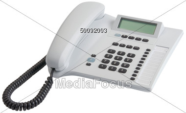 Stock Photo Office Telephone Answering Machine Clipart.