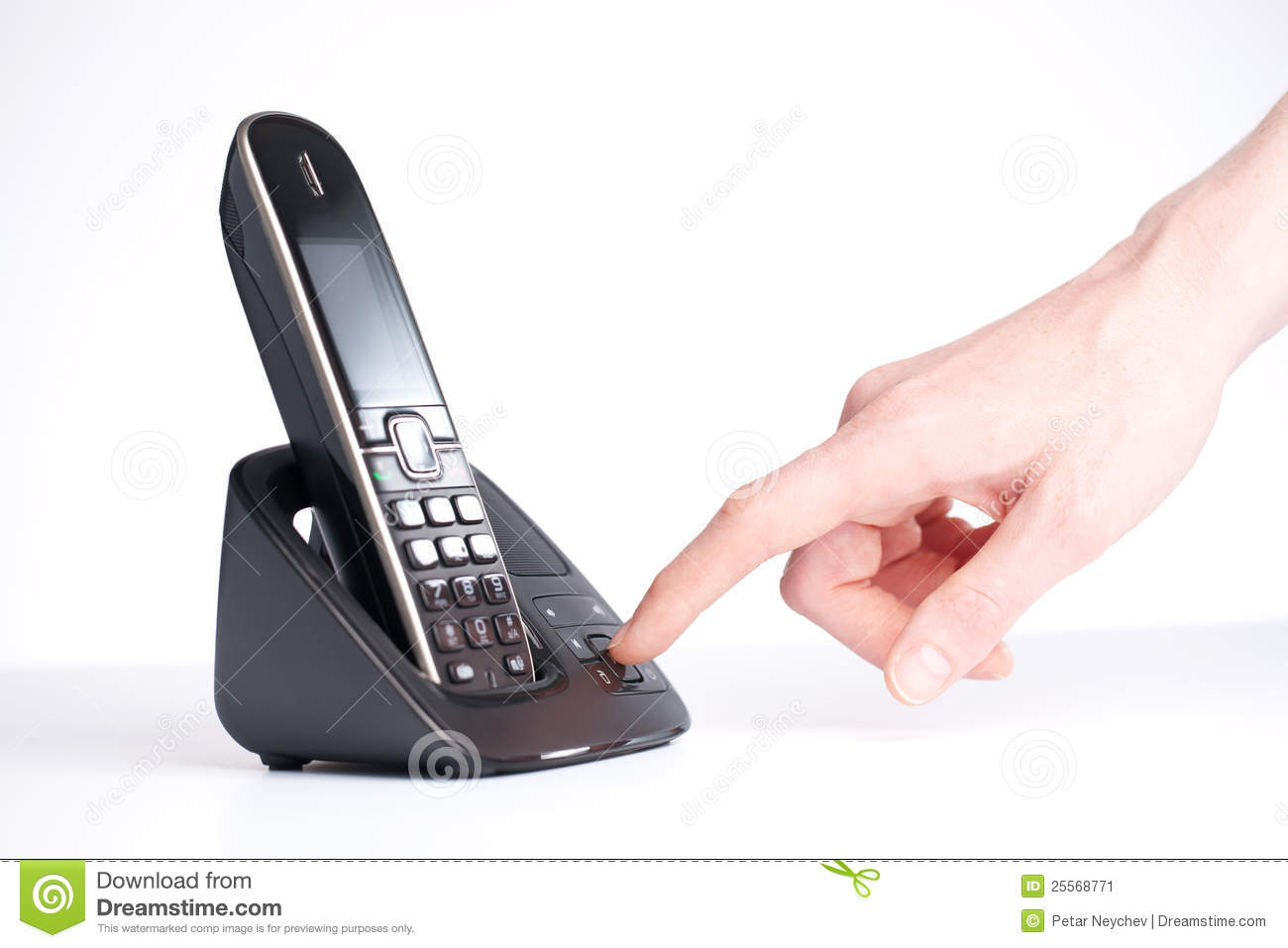 Telephone Answering Machine Royalty Free Stock Photography.