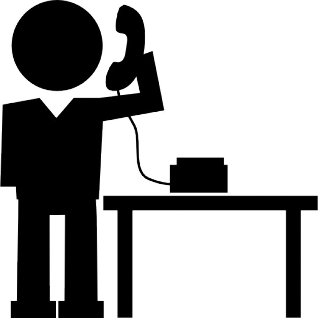 Collection of free Called clipart answer phone. Download on.