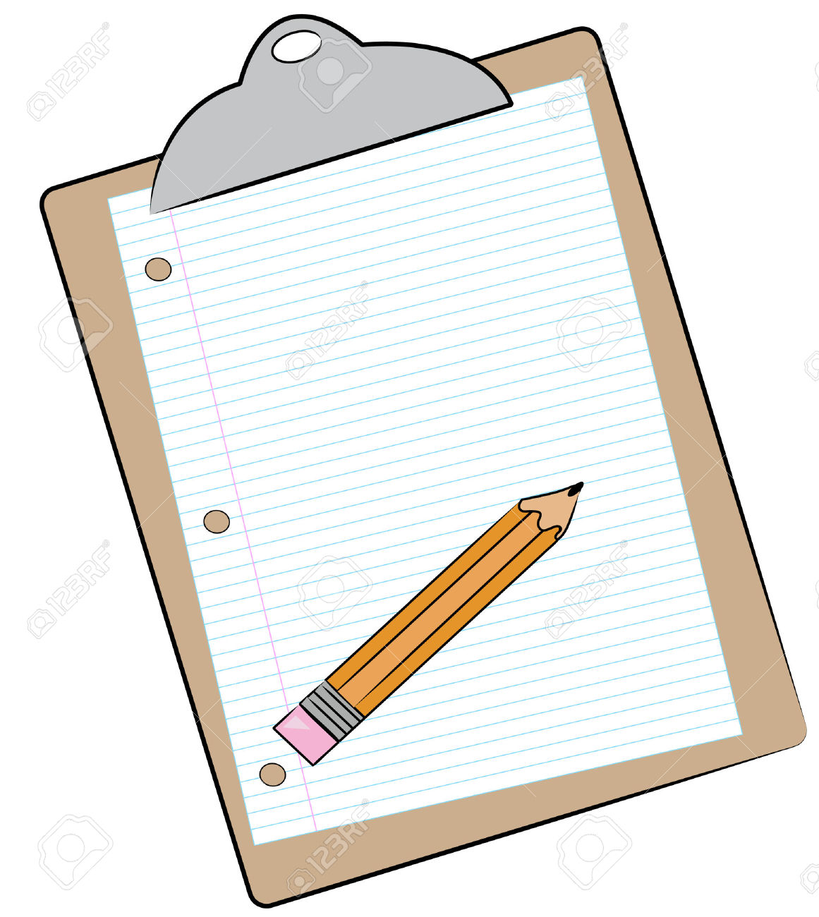 1116 Clipboard free clipart.