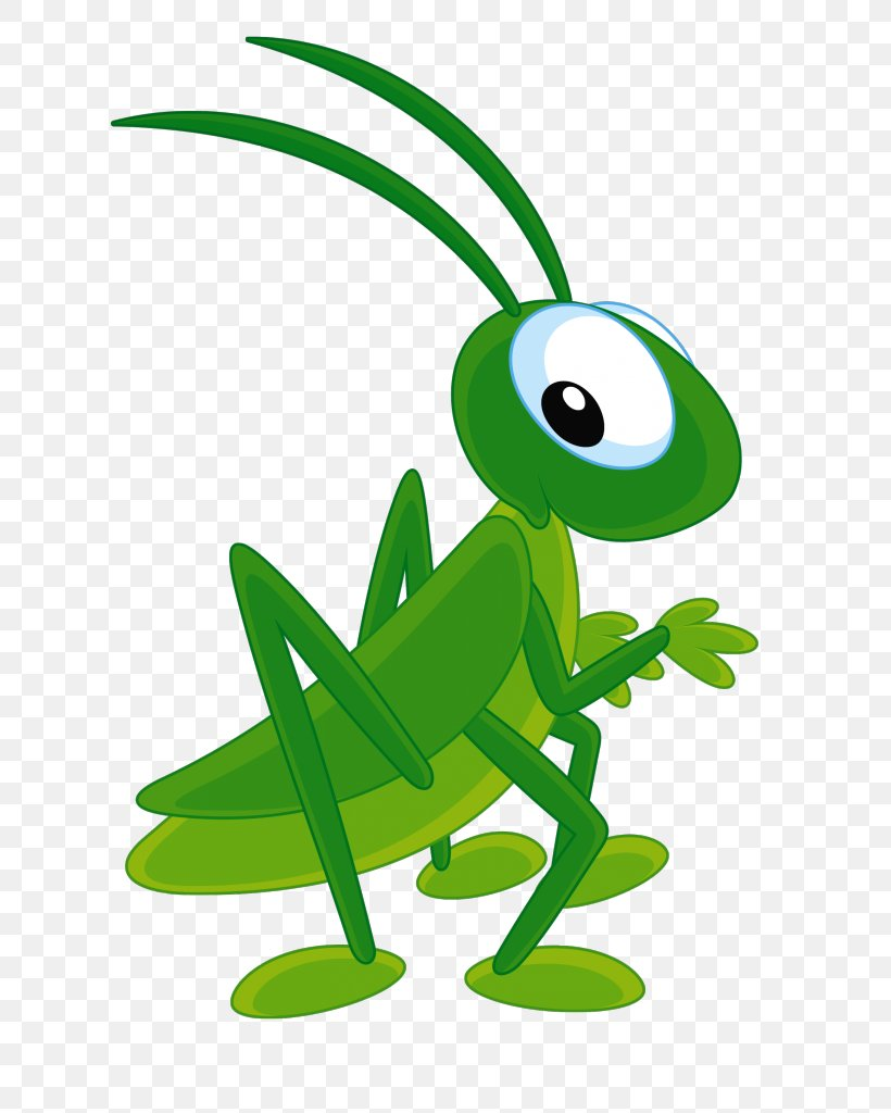The Ant And The Grasshopper Clip Art, PNG, 616x1024px.