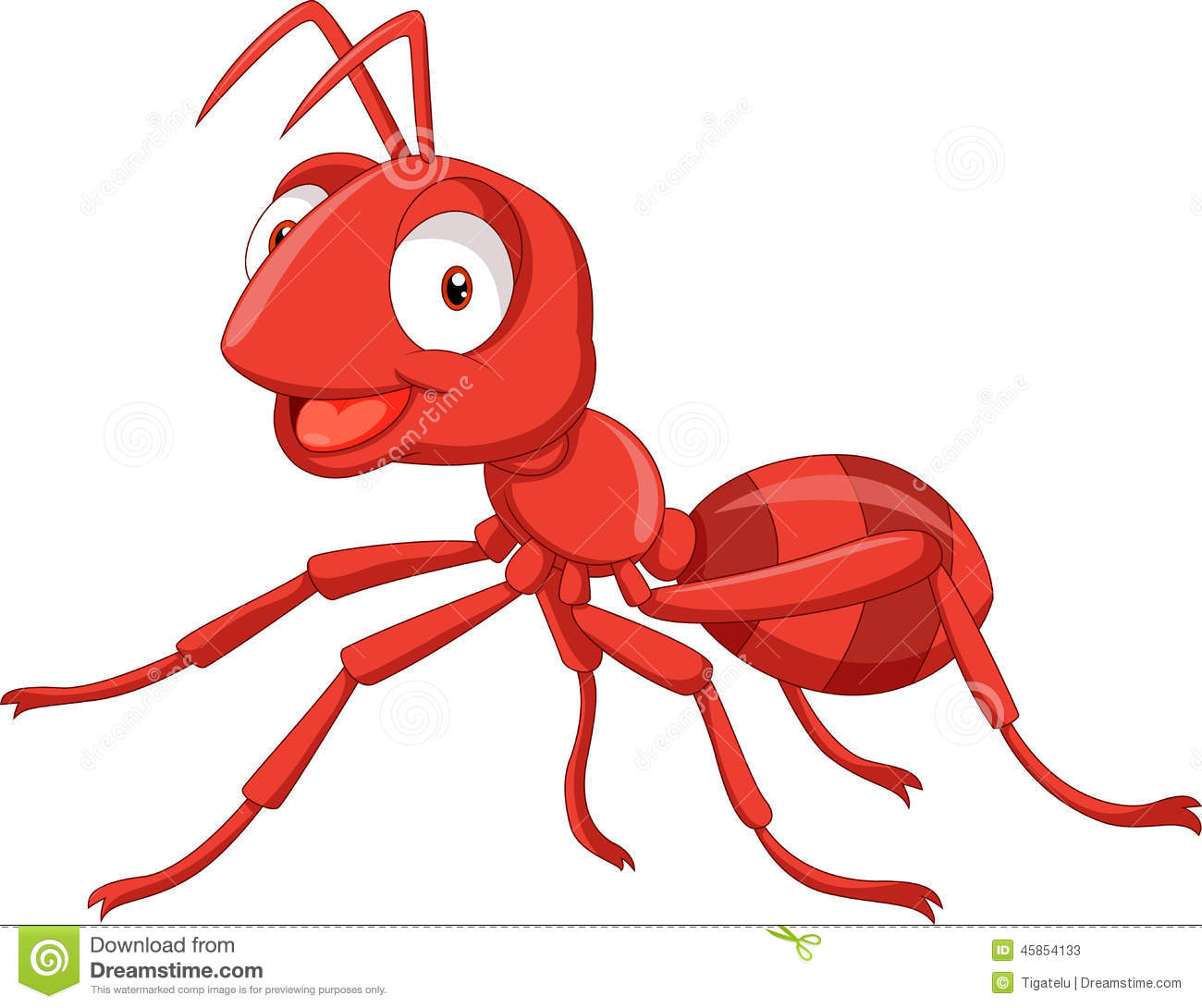 Red Ant Clipart.