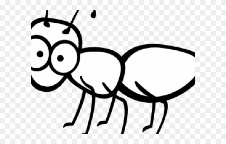 Ants Clipart Outline.