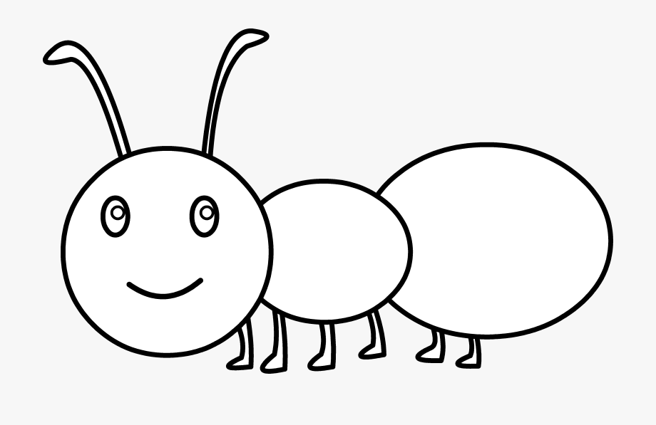 Ant Black And White Ant Clipart Black And White Free.