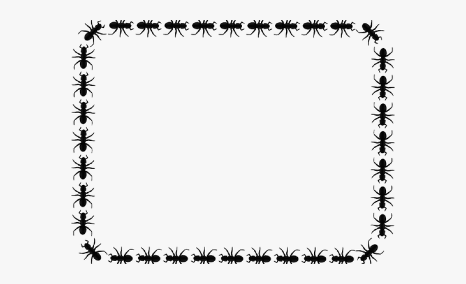 Ant Clipart Border.