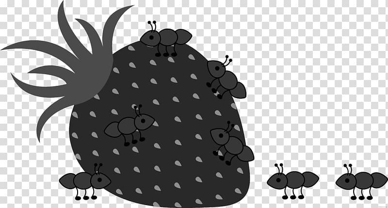Ant Illustration graphics , chew black white transparent.