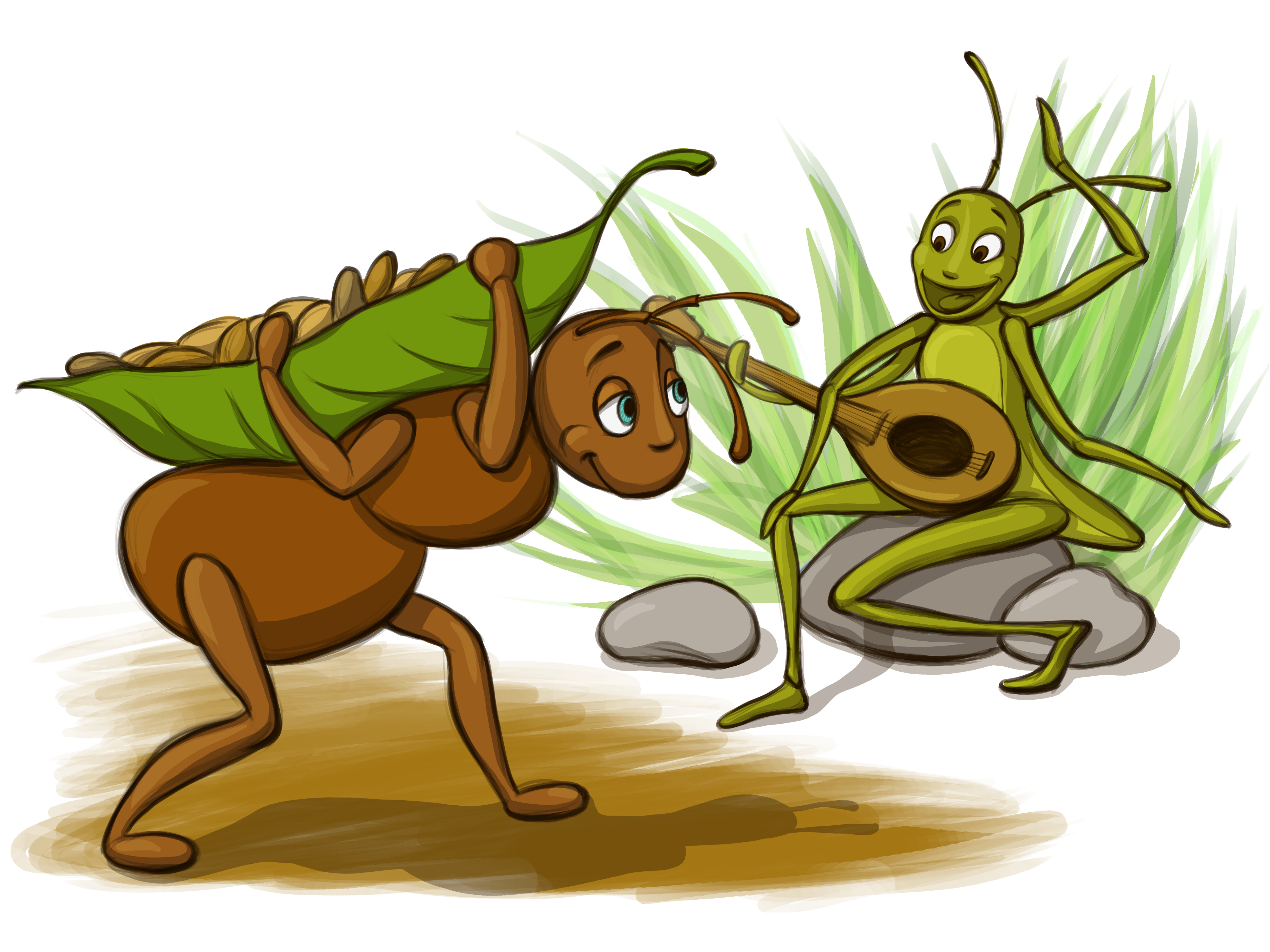 2374 Ant free clipart.
