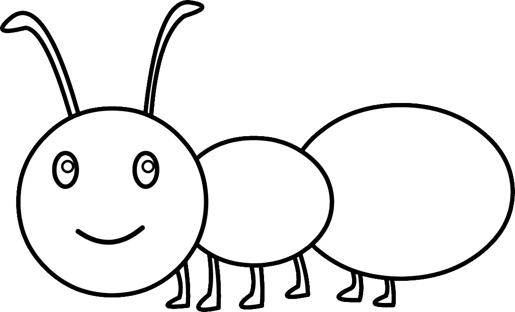 Ant clipart black and white free images.