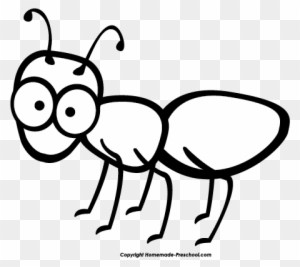 Ant clipart black and white 4 » Clipart Portal.