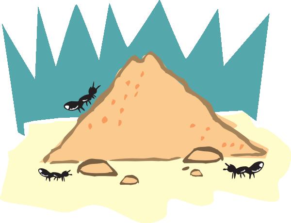Ant Nest Clipart.