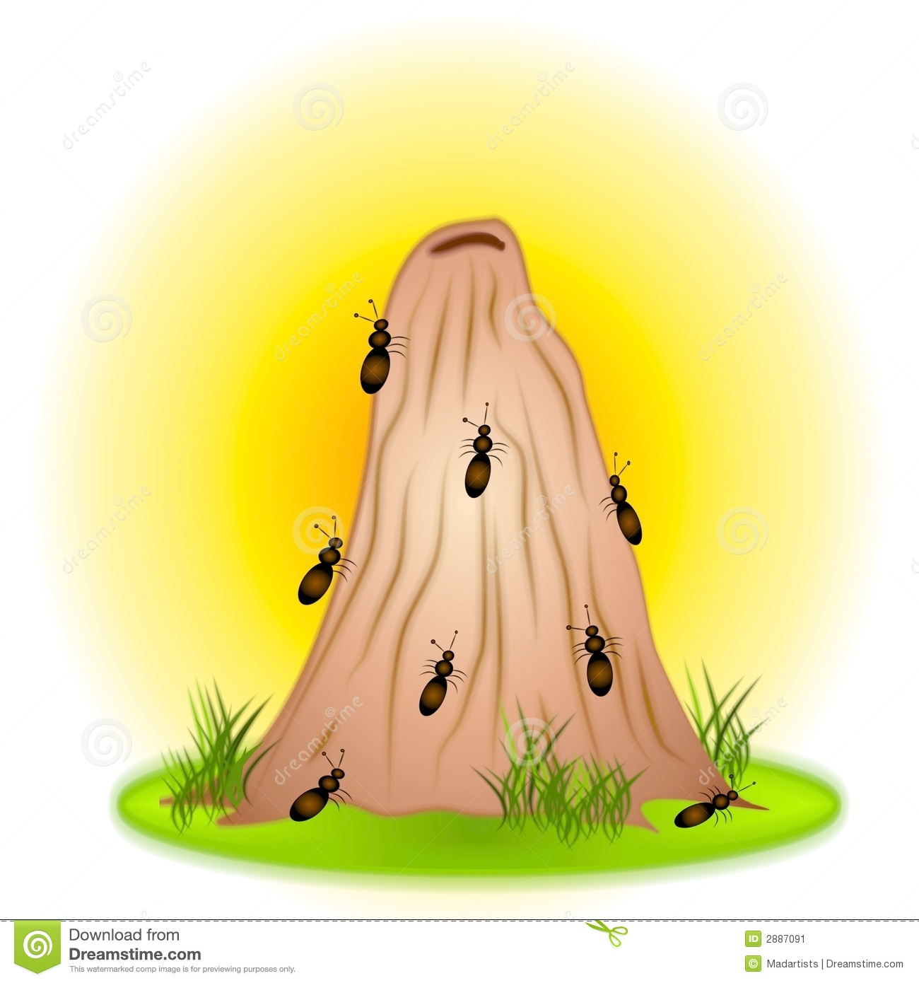 Ants Nest Clipart Clipground