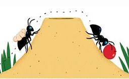 Ant hill clip art.