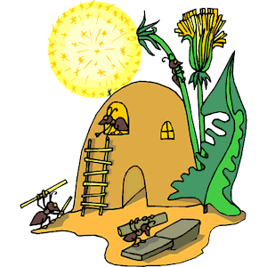 Ant Hill Clipart.