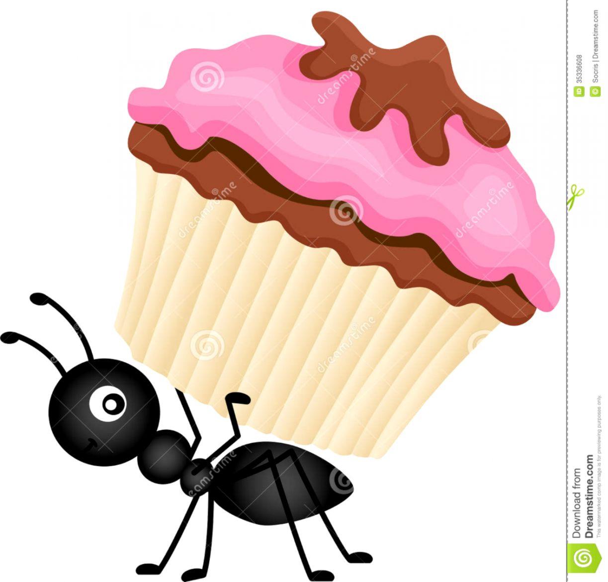Ants Picnic Clipart.