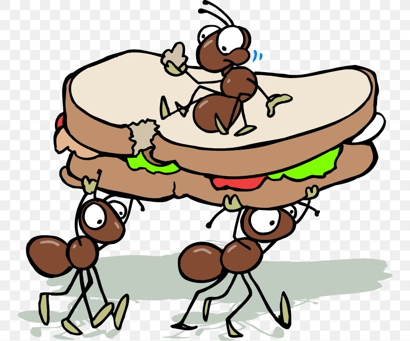 Ant Picnic Baskets Clip Art, PNG, 750x681px, Ant, Area.