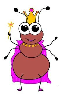 Queen ant clipart.