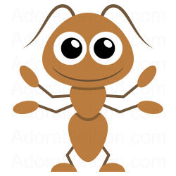 Ant clipart.