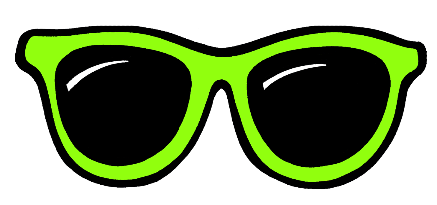 Ant with big glasses clipart clipart images gallery for free.