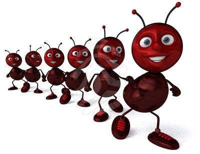 Working ants clipart.