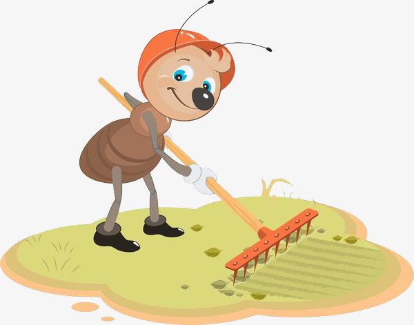 1061 Ants free clipart.
