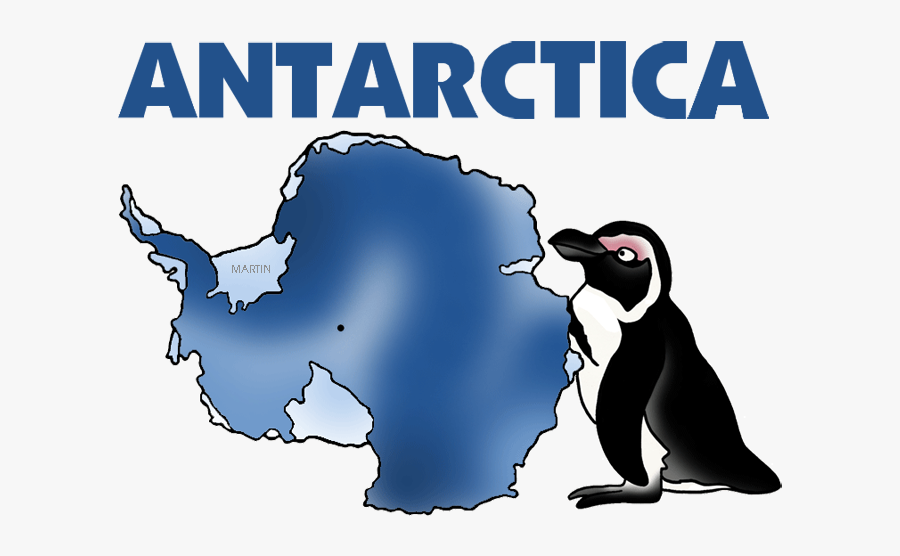 Antarctica Map.