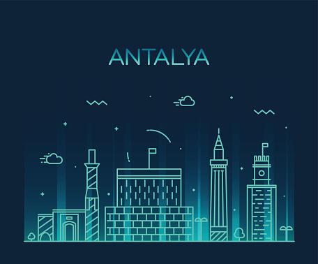 Antalya Clip Art, Vector Images & Illustrations.
