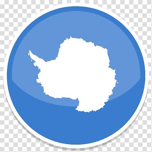 Blue circle sky cloud font, Antarctica transparent.