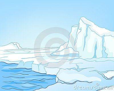 Image result for antarctic scenery clipart.
