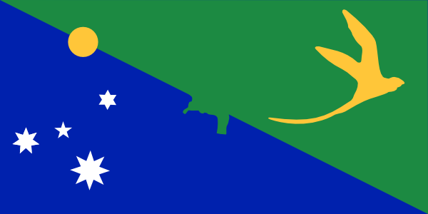 Antarctica Christmas Island Flag Clip Art at Clker.com.