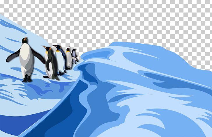 Penguin South Pole Antarctic Cartoon PNG, Clipart.