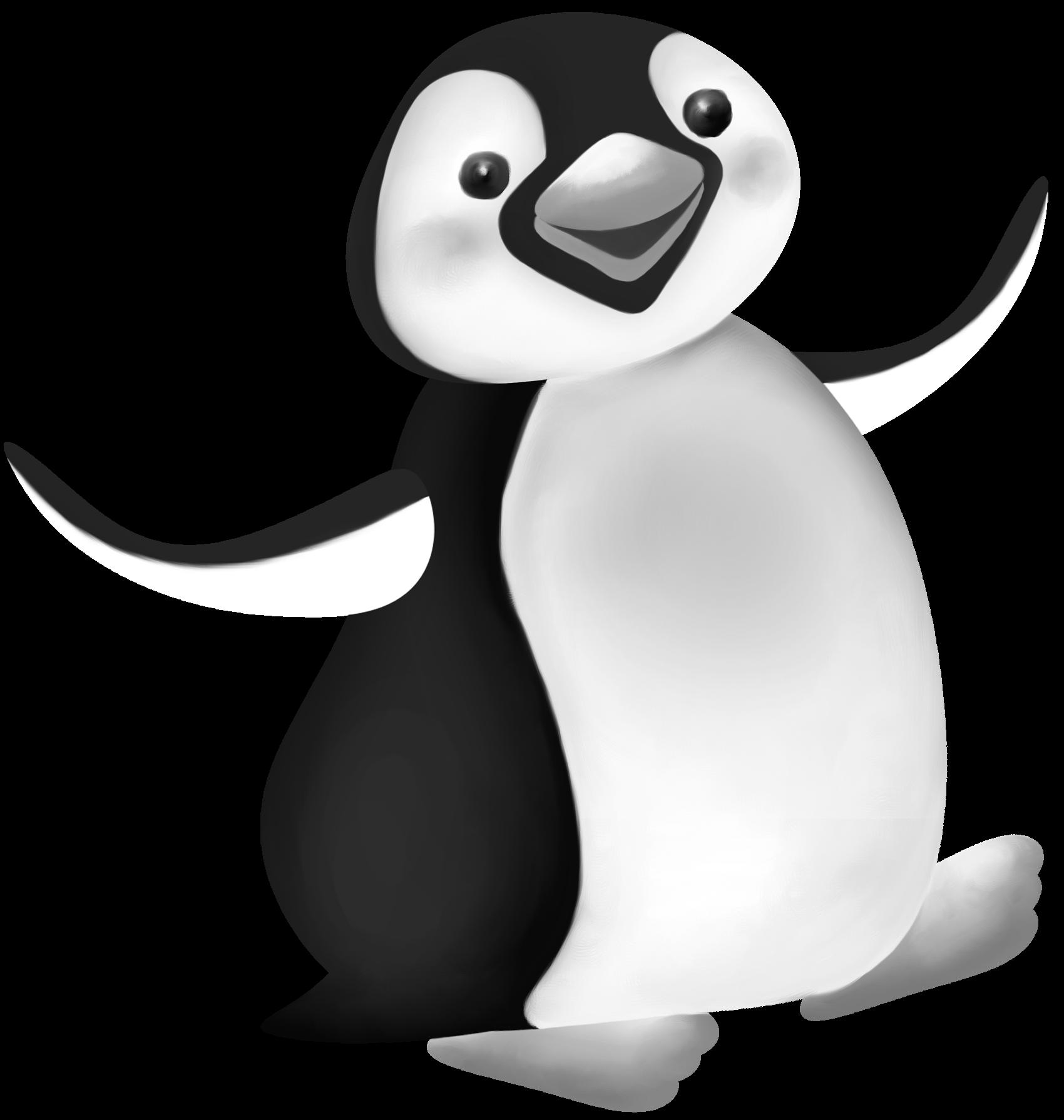 Penguin Clip art Antarctica Illustration Image.