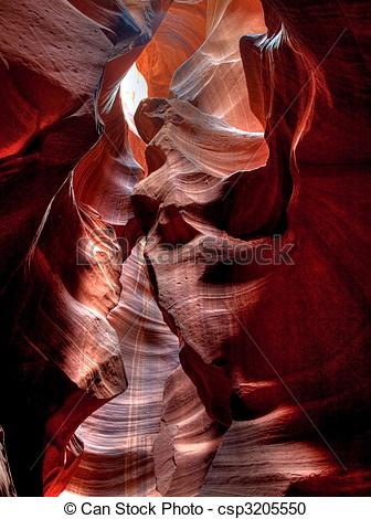 Stock Photography of Antelope Canyon.