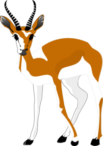 Antelope Clipart.