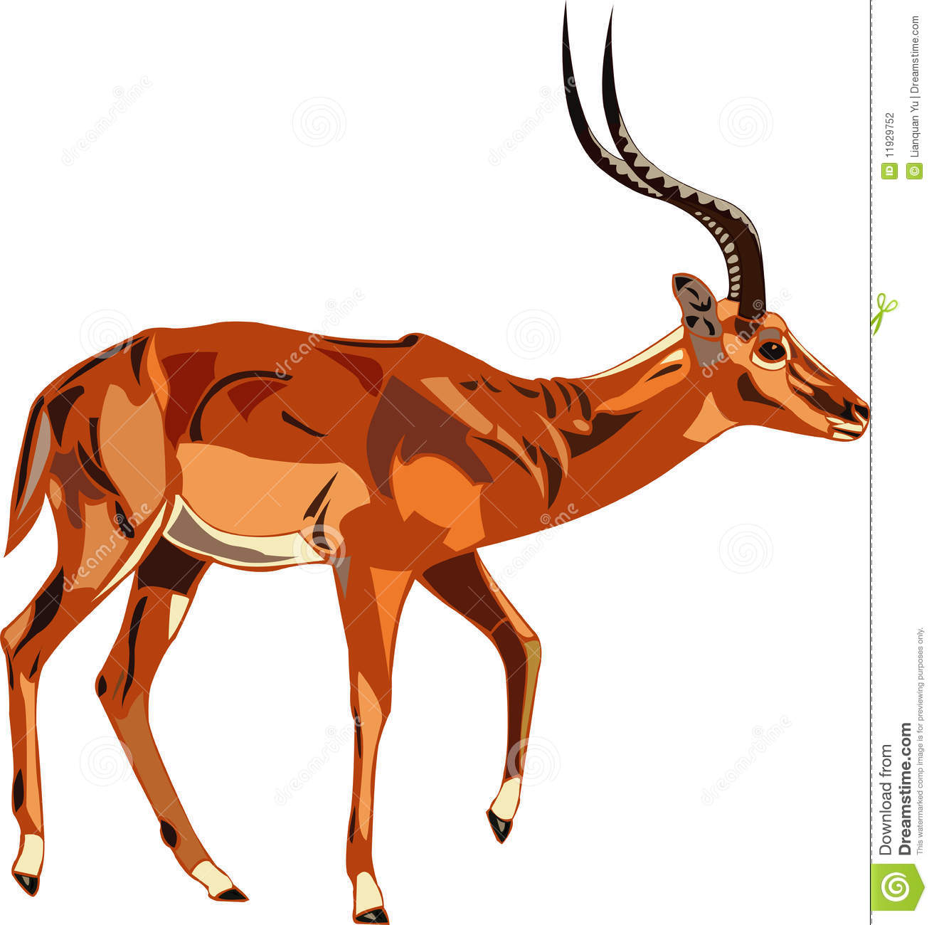 Antelope 20clipart.