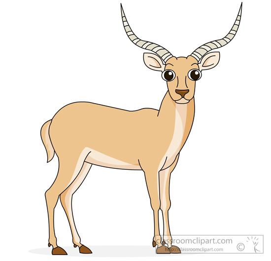 Antelope clipart #8