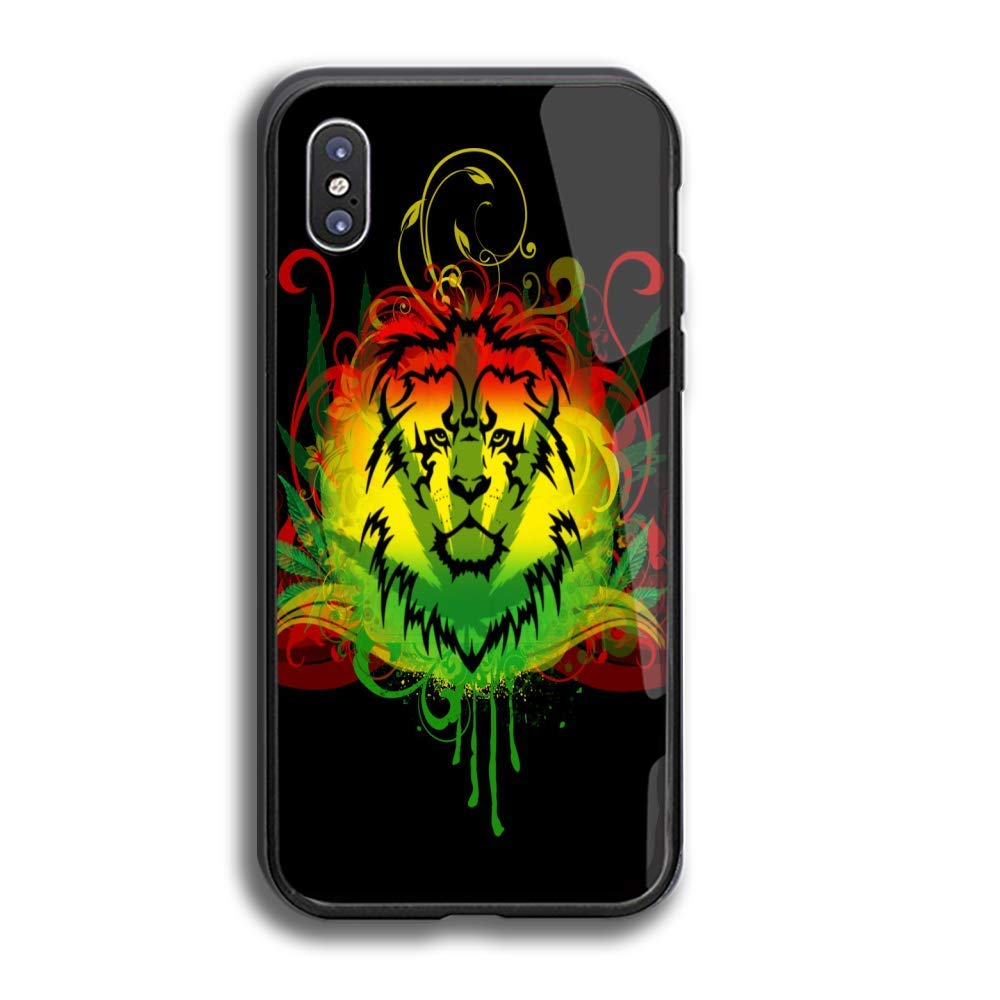 Amazon.com: TPU Tempered Glass Phone Case for (iPhone x.