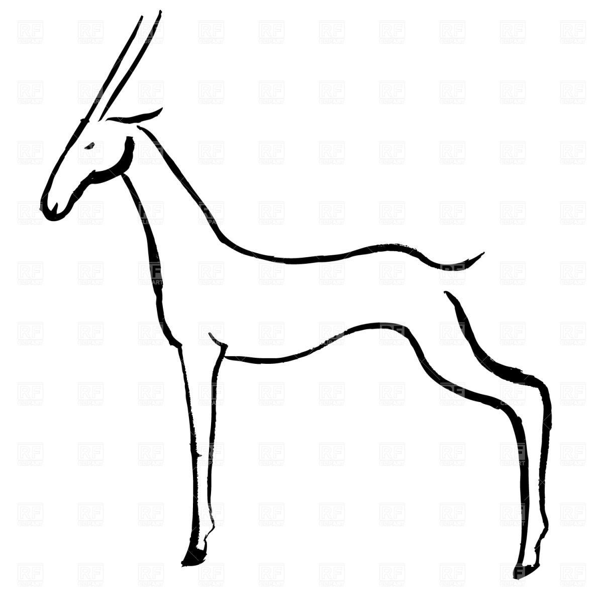 Antelope 20clip 20art.