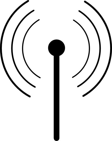 Radio Antenna Clipart.