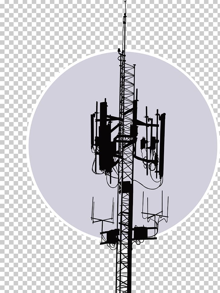 Antenna Telecommunications Tower Satellite Dish Radio PNG, Clipart.